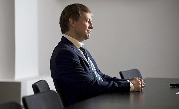 Tuomioistuinviraston ylijohtaja Riku Jaakkola